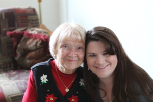 Grandma Theda and I