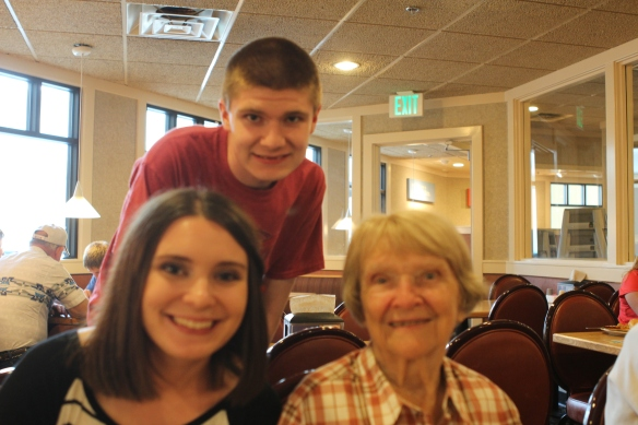 My kids and my grandma