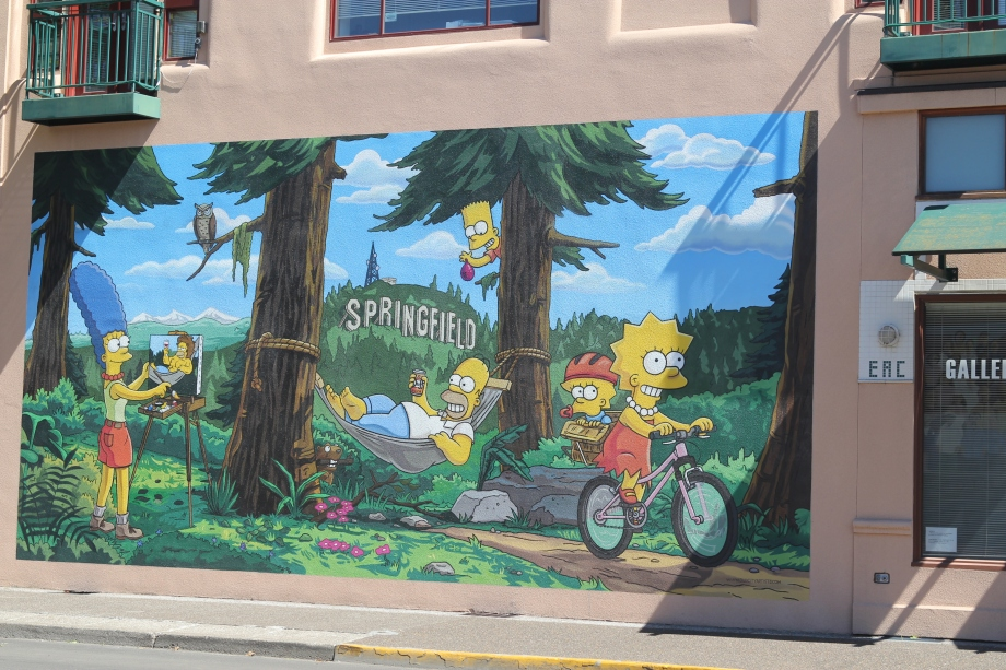 The Simpsons are officially in Springfield, OR now!